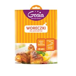 Gosia Woreczki do pieczenia - kartonik 6szt.