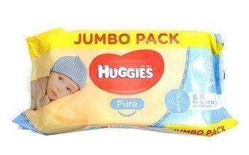 HUGGIES PURE JUMBO PACK Chusteczki nawilżane 72szt.