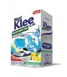 Herr Klee Tabletki do zmywarki SILVER LINE 102 szt