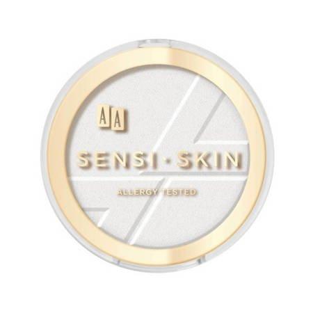 AA Sensi Skin Owsiany puder prasowany fixing 8 g