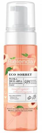 Bielenda Eco Sorbet Pianka micelarna Serum nawilżająco-odżywczy 150ml