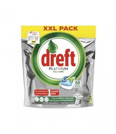 Dreft Platinum Original kapsułki do zmywarki 68szt