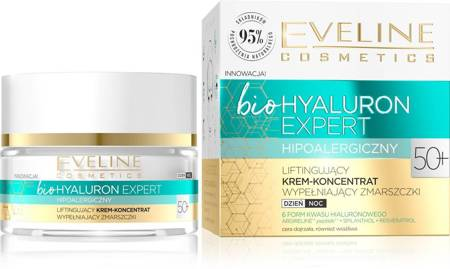 Eveline Bio 50+ Krem wypełniający zmarszczki dzień/noc 50ml
