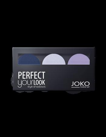 JOKO Cienie prasowane do powiek TRIO PERFECT YOUR LOOK 303