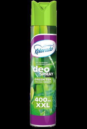 Kolorado Deo Spray odświeżacz Zielona herbata 400ml