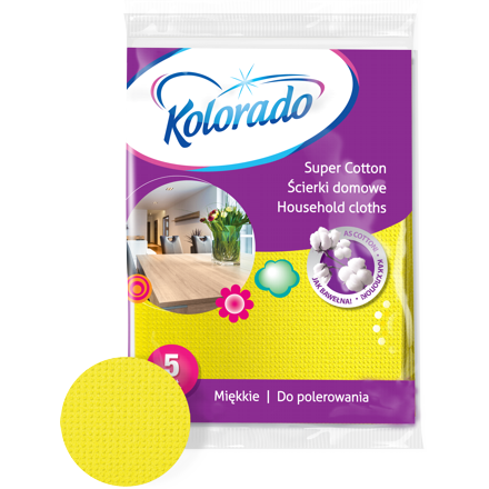 Kolorado Ścierki Supercotton A5