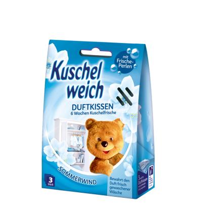 Kuschelweich saszetki zapachowe Summer Wind 3szt