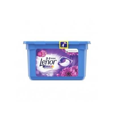 Lenor 3w1 Ametyst Floral Bouquet kapsułki do prania 11 szt