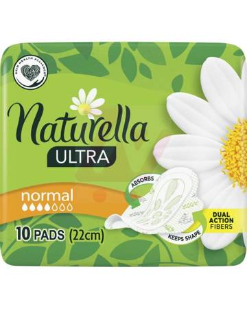 Naturella Ultra Normal Podpaski ze skrzydełkami x10