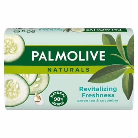Palmolive Naturals GREEN TEA&CUCUMBER Mydło w kostce 90g