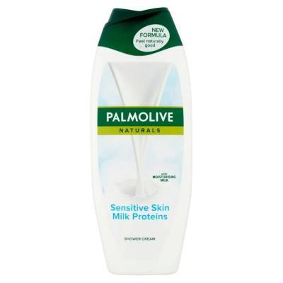 Palmolive Sensitive Skin Milk Proteins Kremowy żel pod prysznic 500ml