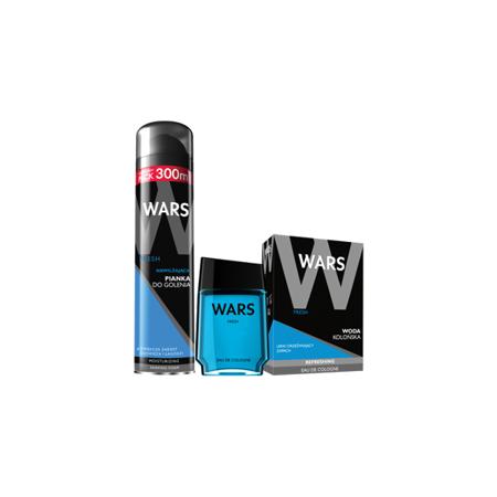 Wars Fresh Pianka do golenia + Woda kolońska