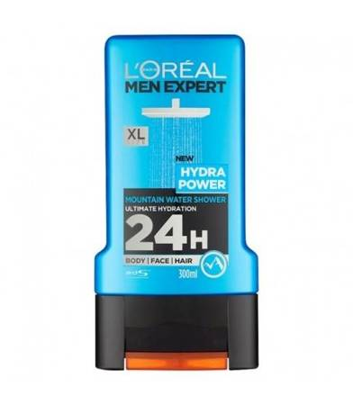 Żel pod prysznic L'Oreal Men Hydra Power 300 ml